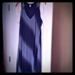 Fun Black and Grey Dress